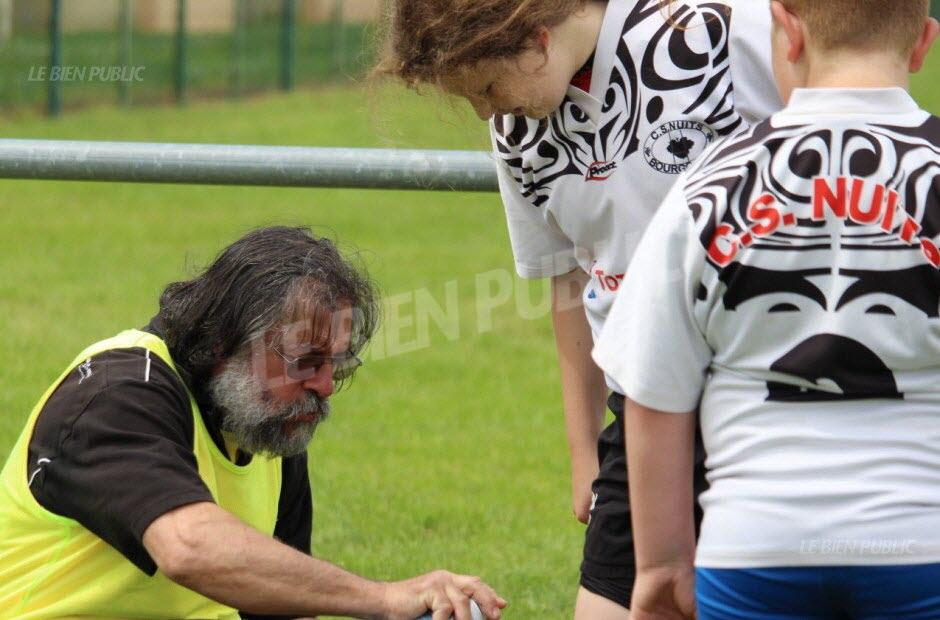 Michel Charollais pilier de l'école de rugby du CSN