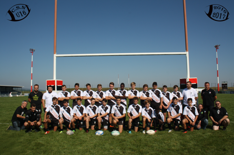 U16 équipe 2016-2017