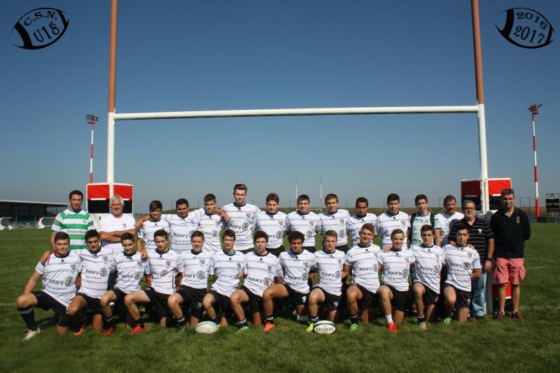 U18 équipe 2016-2017