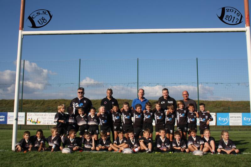 équipe U8 2016-2017